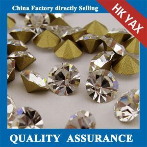 China Fashion Crystal Glass Rhinestone,Various Sizes Glass Crystal Rhinestone,Cheap Rhinestone Glass Stones Hot Selling on sale
