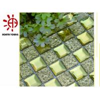 China HTY - TG 300 300*300 Golden Glass Tile for Wall Dectoration Made in Foshan Factory on sale