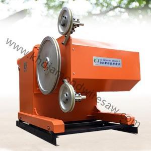 Quality Hard rock cutting CNC automatic diamond wire saw machine 55kw for sale