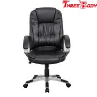 Quality Racing Style Conference Room Chairs , Ergonomic Leather Computer Chairs for sale