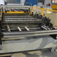 Coated Roof Panel Roll Forming Machine Interlock Roof Panel Making Machine