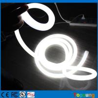 Best 360 degree emitting round led neon flex DC24V 16mm diameter tube light white wholesale