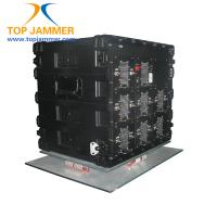 Quality 13 Ports Full Bands 650W High Power Vehicle Anti-bomb Jammer Block RF 20-500MHz & Mobiles for sale