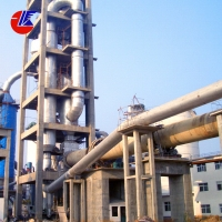 China 300 tpd Active Lime Rotary Kiln for sale