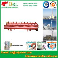 Buy Low Loss Boiler Header Manifolds / Boiler Steam Header Non Pollution at wholesale prices