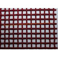 Quality Single Layers Woven High Carbon Wire Mesh Screen For Vibrating Stone Crushers for sale