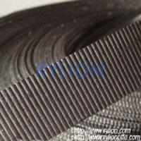 China corrugated graphite tape,black,0.5mm. on sale
