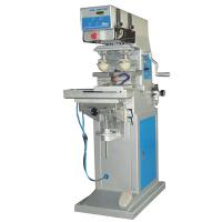 Multi-function pneumatic 2 color pad printing machine with shuttle for gift printing