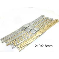 Best Classic Handwork Polish Mens Stainless Steel Bracelet Watch Belt Super Wider Link wholesale
