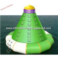 China Adults Outdoor Water Games Inflatable Climbing Tower Equipment on sale