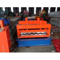 China 7.5kw Power 828 Glazed Tile Forming Machine for sale