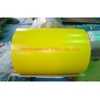 Quality Yellow Blue Red SGCC Galvanized Color Coated Steel Coil With 900mm - 1250mm Width for sale