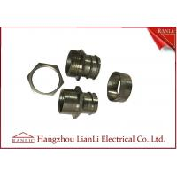 Quality 3 Pieces Swivel Adaptor Flexible Conduit Adaptor Inside For PVC Coated Conduit for sale