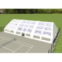 China Double Layer Strong Inflatable Lawn Tent Inflatable Camping Tent For Tennis Football Game on sale