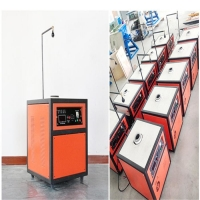 16kw Small Gold Silver Copper Melting Induction Furnace for sale