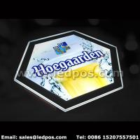Best Hoegaarden Beer Light Box Illuminated Bottle Sign wholesale