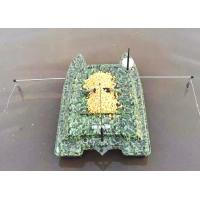 Quality Remote Control Catamaran Bait Boat DEVC-308M3 camouflage ABS Engineering for sale