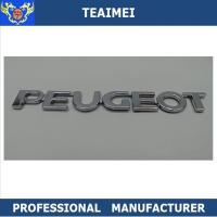 Best ABS Plastic Car Letter Emblems 3M Adhesive Auto Body Letter Decoration Emblem Badge wholesale