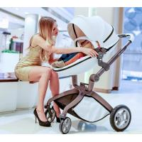Quality Aluminum 3 in 1 Baby pushchair stroller and carrycot and carseat baby stroller 3 in 1 for sale