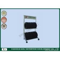 China Two layers wall mount tire storage rack for trucks , industrial storage racking on sale
