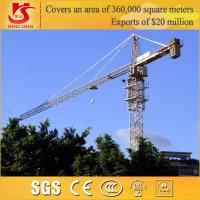 Quality Building Construction site generally use Model QTZ6010 tower crane for sale