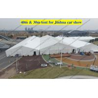 China High Reinforced Aluminum Custom Trade Show Tents 30m / 40m For Outdoor Trade Show on sale