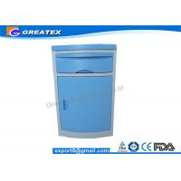 China Hospital Clinic ABS Plastic Bedside Cabinet , patient room Furniture Storage Cabinets on sale