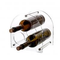 "Best WinePro """"Arch"""" Wine Bottle Rack, 3-Bottle Acrylic Stand (Clear) wholesale"