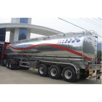 China 3 axles 44m3 5454 aluminum alloy oil tank semi trailer on sale