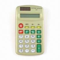 Quality Handheld Calculator with Solar Power for sale