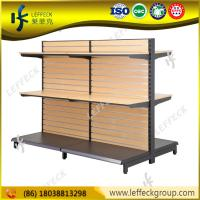 Quality Professional customized design wood candy store display for grocery shop for sale