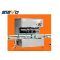 Quality 2400x1400x2500mm 4 Nozzles 25L Lubricant Oil Filling Machine for sale
