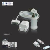 Quality for iPhone Car Charger, Euro Travel Charger with USB Cable for sale