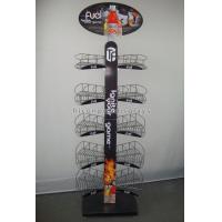 Quality 2-way Custom Wine Display Stand Merchandising Store Fixtures for sale