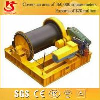 Quality Low speed and high speed electric cable pulling winch for sale