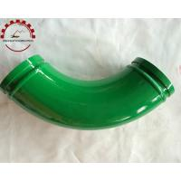 Quality Concrete Pump Twin Wall Elbow Dn125 for sale