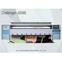 Quality 10ft Solvent Color Inkjet Flex Banner Printing Machine High Precision Challenger 3208E for sale