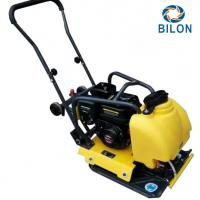 Quality 5.5HP Walk Behind Gasoline Vibratory Plate Compactor For Building Foundation for sale