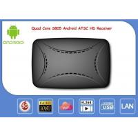 China S805 Android Smart IPTV Box ATSC Digital ATSC Receiver Support Global Channels on sale