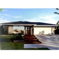 Quality Prefabricated Light Steel Prefab Bungalow Homes / Bungalow House For Living for sale