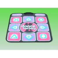 Quality Single Player 2 In 1 USB Dance Pad , TV / PC 16 Bit TV Dancing Mat for sale