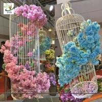 Best UVG silk flower arrangement in artificial blossom tree branches wedding backdrops material wholesale
