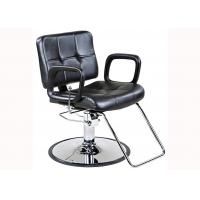 Quality Shinning Chrome Salon Hydraulic Chair Reclining Backrest With U- Shaped Footrest for sale