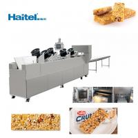 Quality 200-1000kg/h Cereal Bar Snack Food Pressing And Cutting Machine for sale