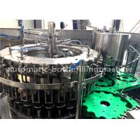 Quality Carbonated Soda Beverage Glass Bottle Filling Machine / Packaging Equipment for sale