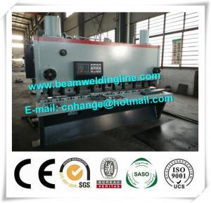 Quality QC11Y-6x3200 Hydraulic Guillotine Shearing Machine , NC Hydraulic Swing Shearing Machine for sale