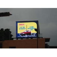 Quality Full Color 16mm outdoor advertising led display screen 2R1G1B MBI 5026 8000cd/m² for sale