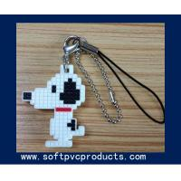 Quality Chequer Snoop Cartoon Soft PVC Keychain / Key Chains with Logo for Promotional Gifts for sale