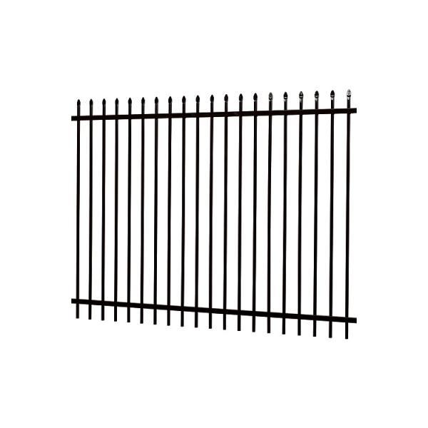 new Garden Security wrought iron fences designs / steel fence panels / decorative garden fence Steel