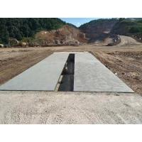 Quality Mining Truck Scale Weighbridge , 10 Ton Weighing Scale Pitless Type Weighbridge for sale